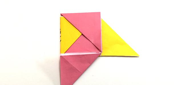 すべての折り紙 折り紙 めんこ : 折り紙で簡単に作れるメンコ ...