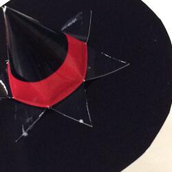 【ハロウィン】ペーパークラフト帽子の作り方