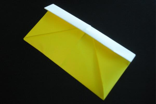 折り紙の 折り紙 財布の作り方 : omocha-album.com